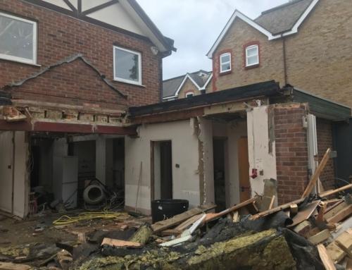 Asbestos Contamination to Demolition Site in Guildford Case Study