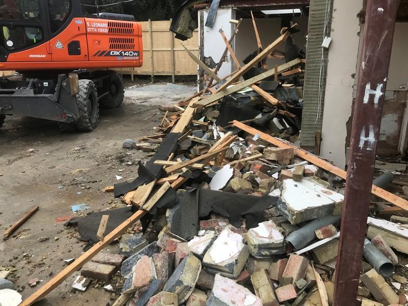 Demolition-Survey-debris-Guildford