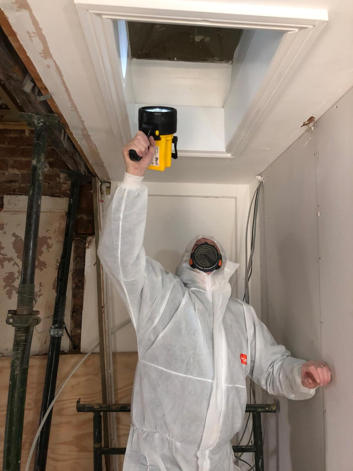Asbestos company local to Pyrford