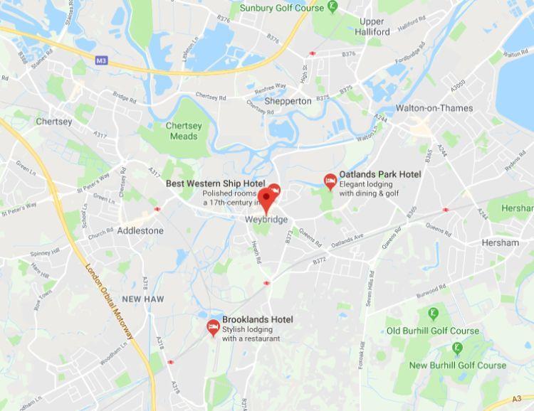 Asbestos removals near Weybridge