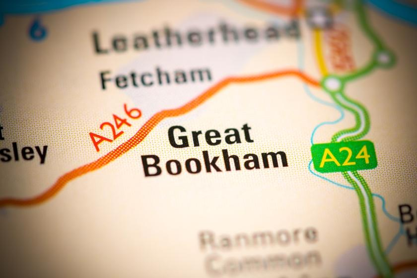 Asbestos removals near Bookham