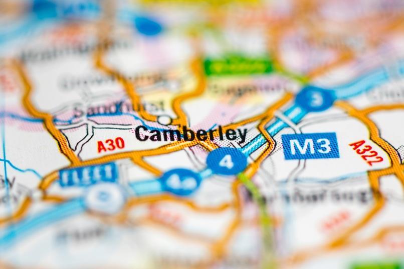 Asbestos removals near Camberley