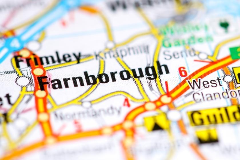 Asbestos removals near Farnborough